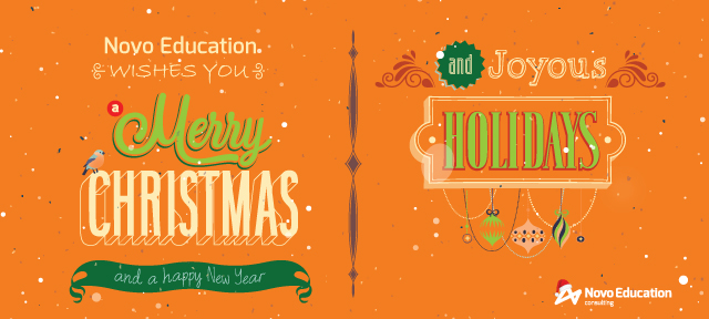 christmas card_novo education